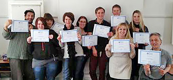 youth work course graduates